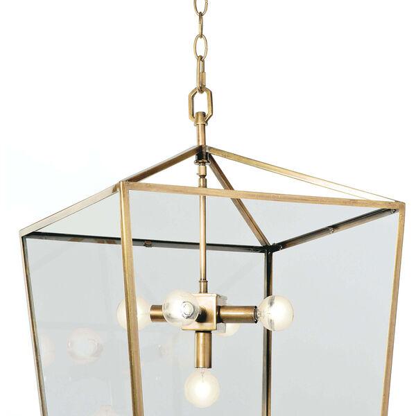 Classics Natural Brass Five-Light Pendant, image 2