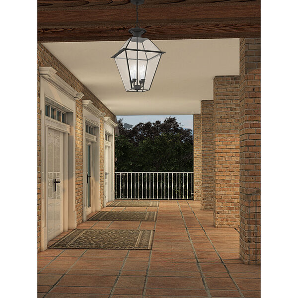 Westover Black Four-Light Outdoor Chain Hang, image 6