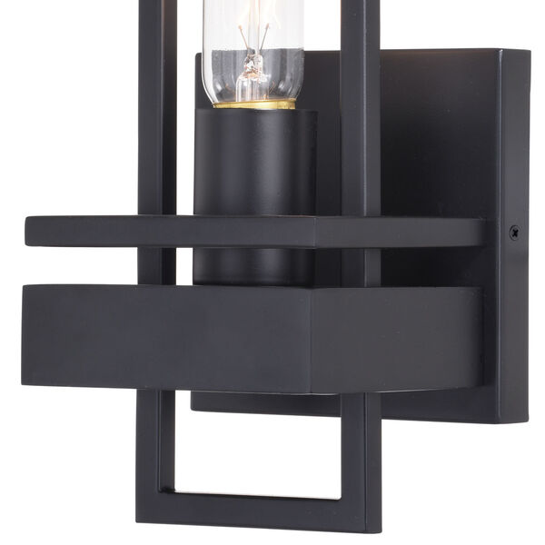 Marquis Matte Black One-Light Wall Sconce, image 2
