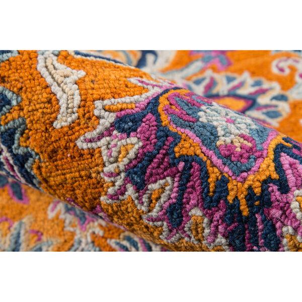 Ibiza Oriental Orange Runner: 2 Ft. 3 In. x 7 Ft. 10 In., image 5