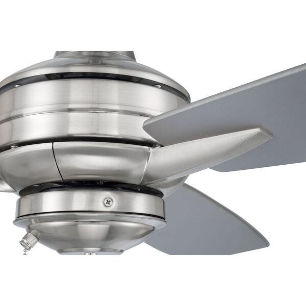 Moto Brushed Polished Nickel 52-Inch Ceiling Fan, image 4