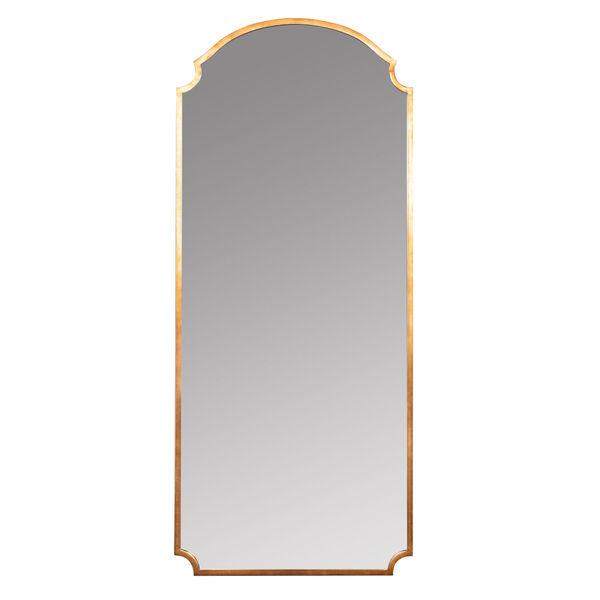 Saxton Gold 70-Inch Floor Mirror, image 2