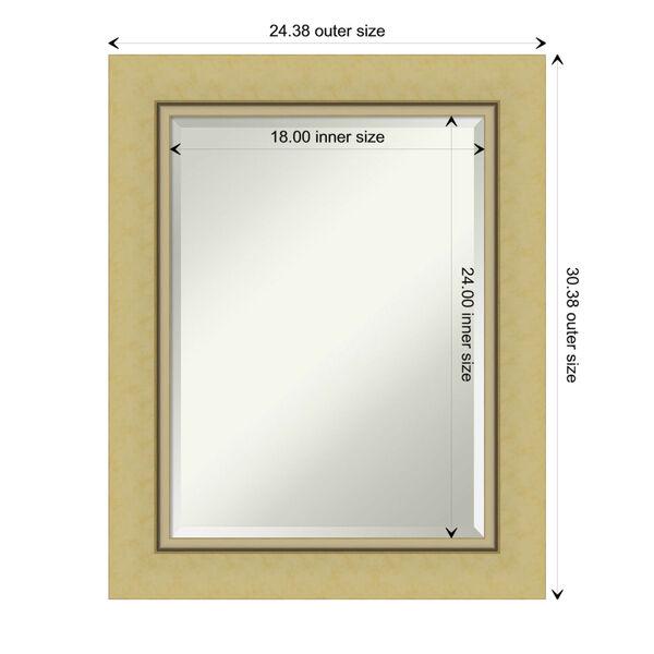 Landon Gold 24W X 30H-Inch Bathroom Vanity Wall Mirror, image 6