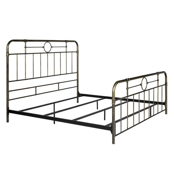 King Bronze 84-Inch Bronze Metal Pipe Bed, image 5