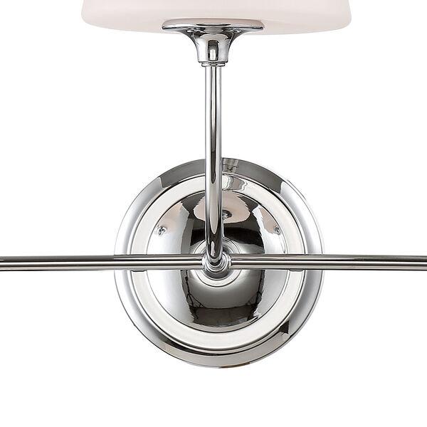 Sylvan Three-Light Polished Nickel Bath Light, image 4
