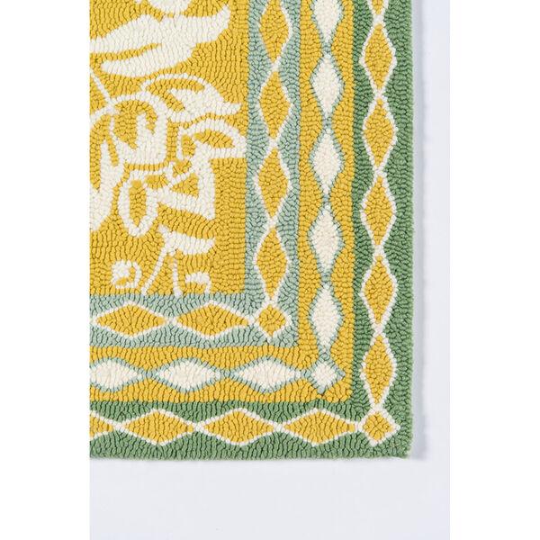 Rokeby Road Yellow Indoor/Outdoor Rug, image 3