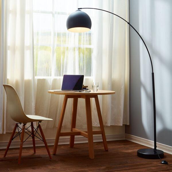 Arquer Black Arc Floor Lamp, image 4