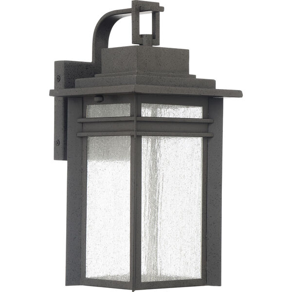 Beacon 14-Inch Stone Black LED Outdoor Wall Sconce, image 2