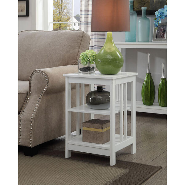 Mission End Table, image 3