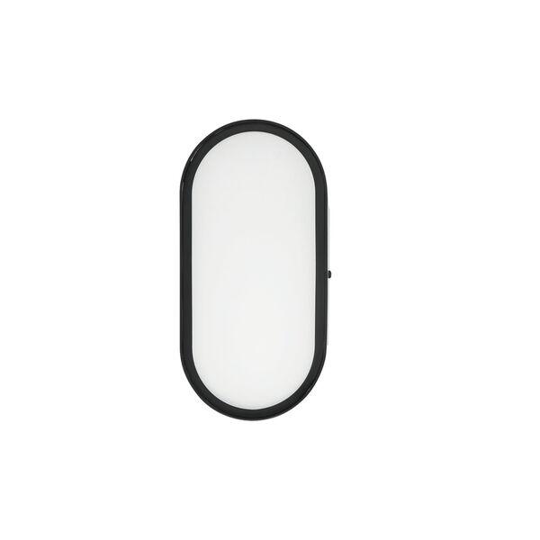 Melody Flat Black LED Wall Sconce, image 3
