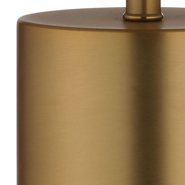 Cora Antique Brass Two-Light Table Lamp, image 2