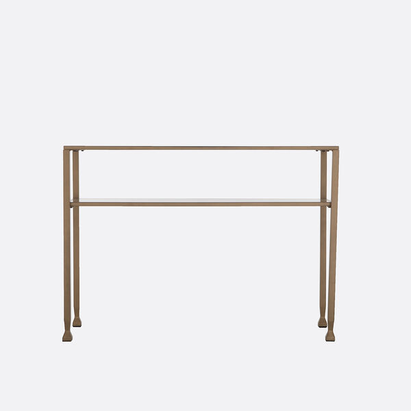 Jaymes Soft Gold 43-Inch Console Table, image 4