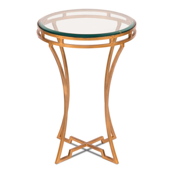 Gold 16-Inch Table, image 1