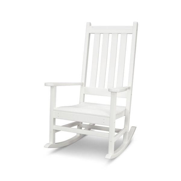 Vineyard White Porch Rocking Chair, image 1