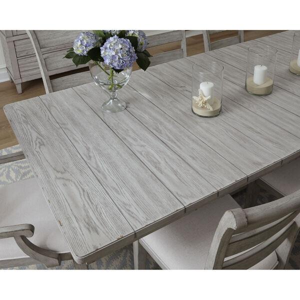 Belhaven Weathered Plank Trestle Table, image 3