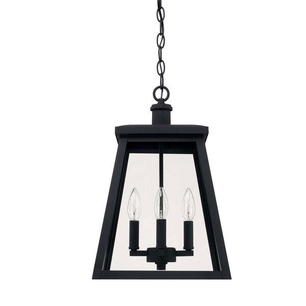 Belmore Black Four-Light Outdoor Hanging Lantern, image 1