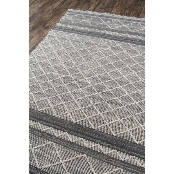 Hermosa Geometric Gray Rectangular: 5 Ft. x 8 Ft. Rug, image 3