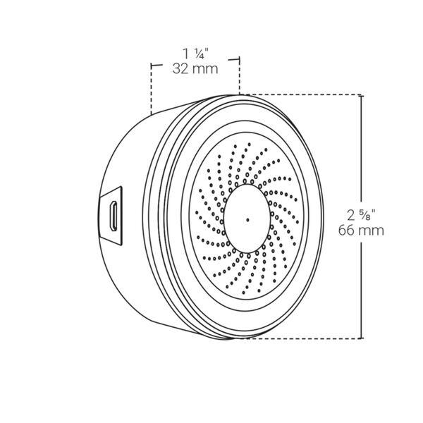 White Smart Wi-Fi Household Alarm Kit, image 6