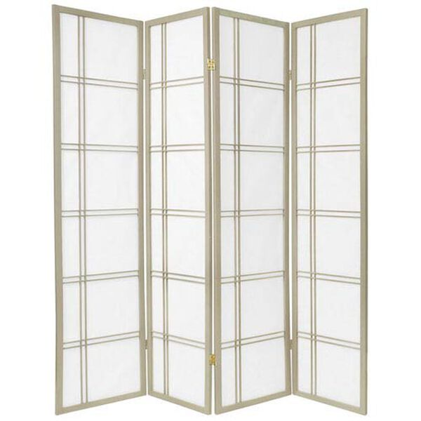 Double Cross Shoji Screen - Special Edition , Width - 69 Inches, image 1