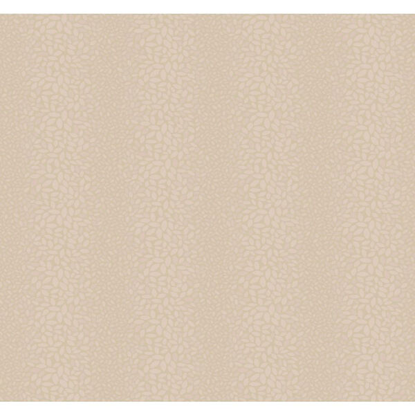 Candice Olson Modern Nature Beige and Pink Canopy Wallpaper: Sample Swatch Only, image 1