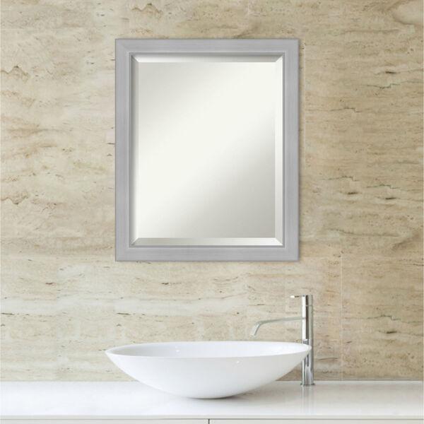 Vista Brushed Nickel 19W X 23H-Inch Bathroom Vanity Wall Mirror, image 5