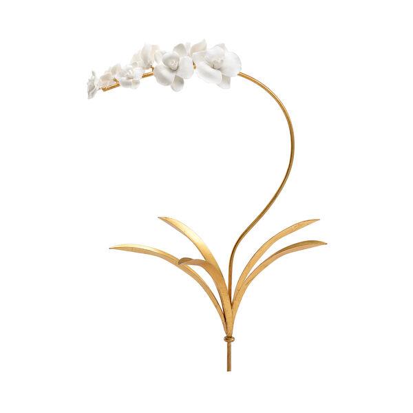 Bradshaw Orrell White Orchid Stem- Medium, image 1