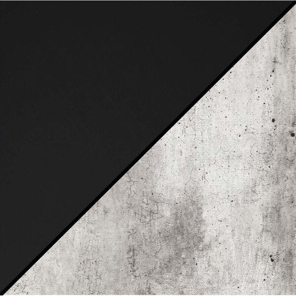 Designs2Go Faux Birch Black Trestle Bookcase, image 6