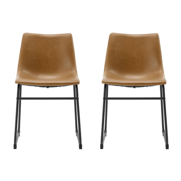 Whiskey Brown Dining Chair, set of 2, image 2