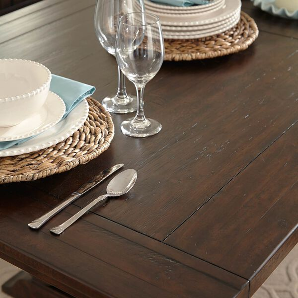 St. Claire Rectangular Dining Table in Rustic Pine, image 4