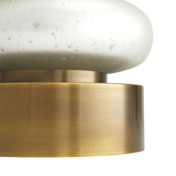 Gaelen Frosted Mercury One-Light Table Lamp, image 3
