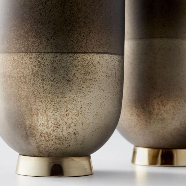 Black Onyx and Champagne Small Pemberton Vase, image 4