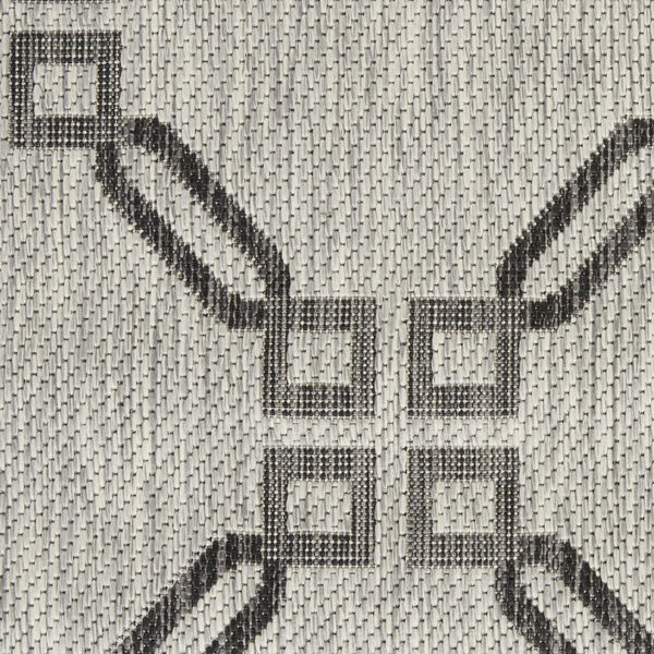 Garden Party Charcoal and Ivory Indoor/Outdoor Area Rug, image 6