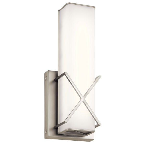 Trinsic Brushed Nickel LED Wall Sconce, image 1