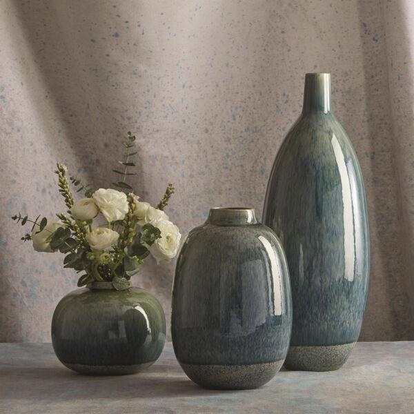 Studio A Home Blue Tall Tidal Vase, image 3