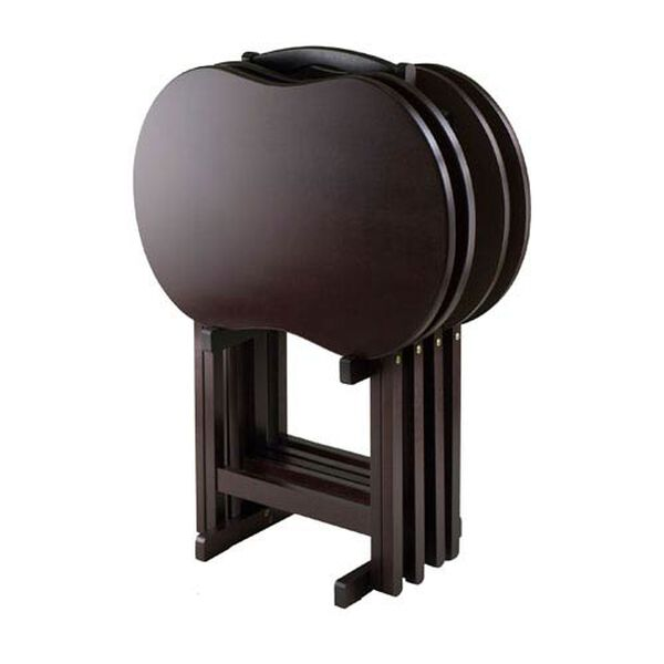 Skippy TV Table Set Peanut Top, Five-Piece, image 2