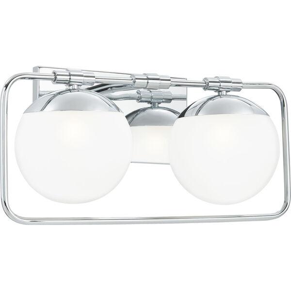 Padgett Polished Chrome Two-Light Bath Vanity, image 5