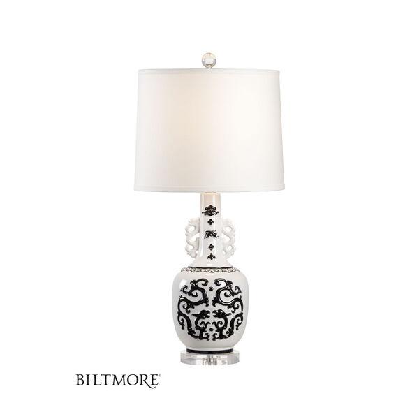 Georgine Black and White One-Light Table Lamp, image 1