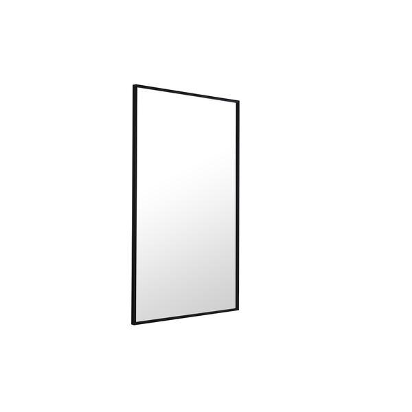 Eternity Black 24-Inch Mirror, image 4