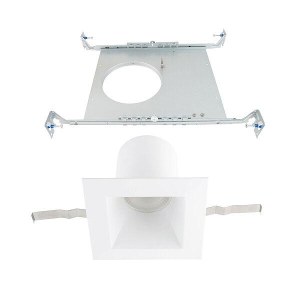 Blaze White LED Square Recessed Light Kit, image 1