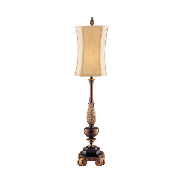 Sweet Ginger Antique Gold and Copper Bronze One-Light Table Lamp, image 1