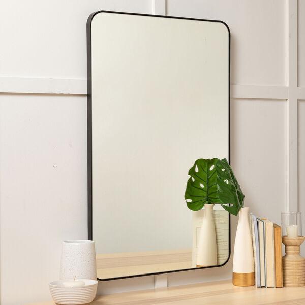 Franco Black Rectangular Mirror, image 4