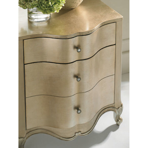 Classic Gold You Are the One Nightstand, image 6