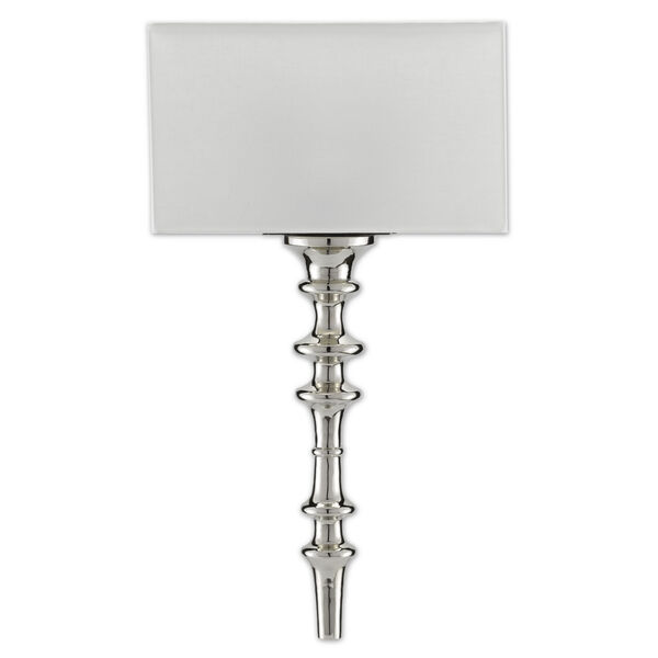 Achmore Nickel Black One-Light Wall Sconce, image 2