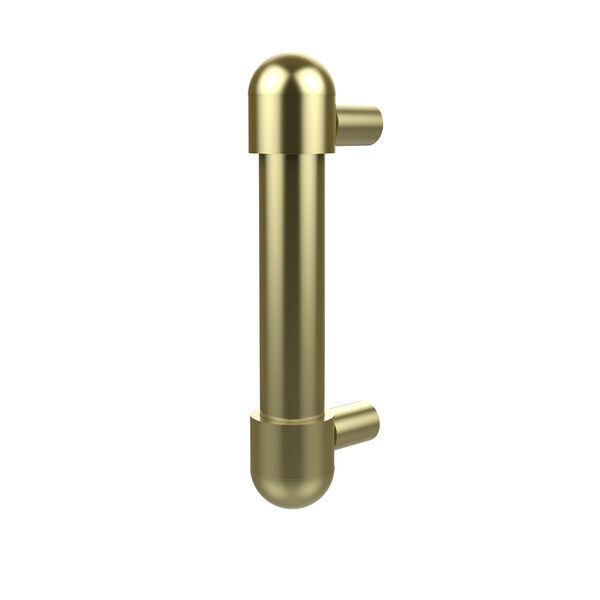 Style O-30 Satin Brass Drawer Pull, image 1