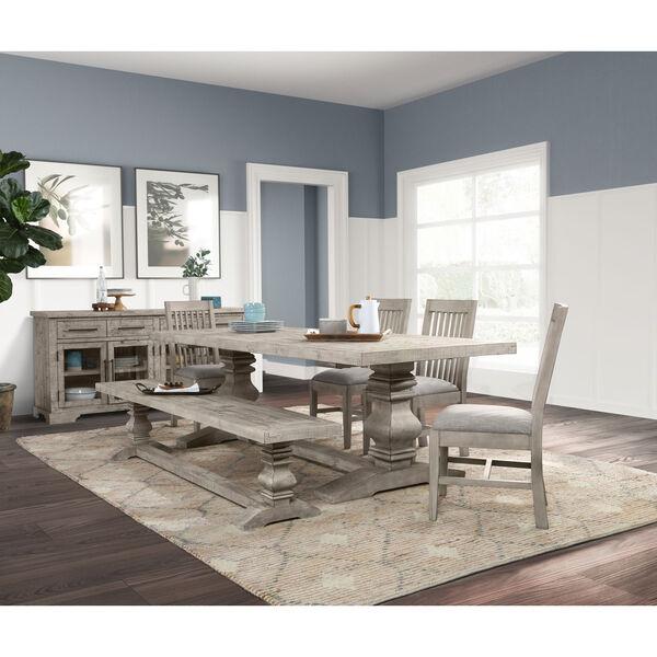 Sagrada Sierra Gray 94-Inch Dining Table, image 7