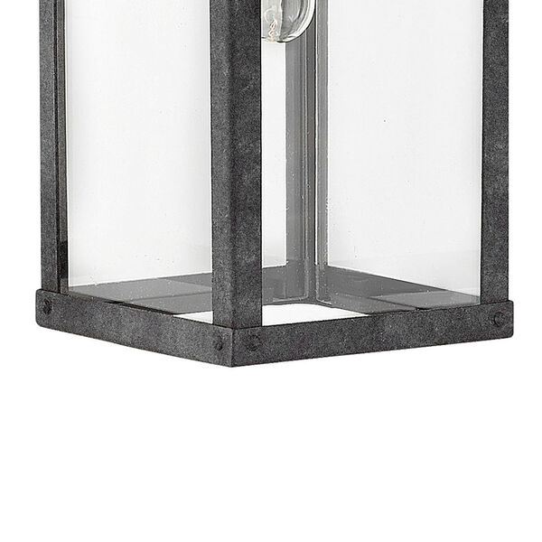 Porter Aged Zinc 19-Inch Outdoor Wall Mount, image 3