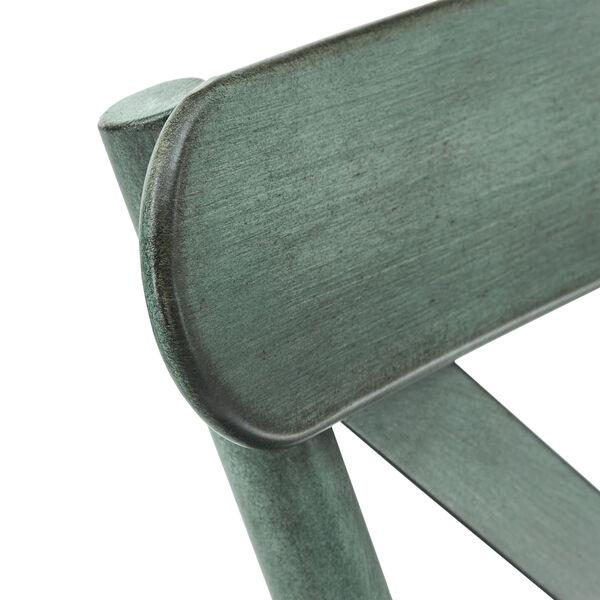 Roman Green Metal Dining Chair, image 4