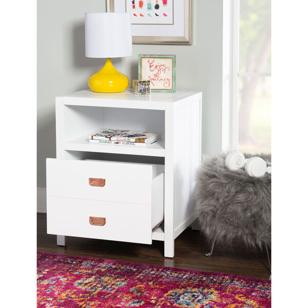 Max White End Table, image 5