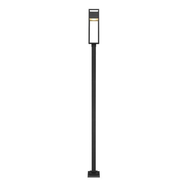 Barwick Black 120-Inch One-Light LED Outdoor Post Mount, image 4