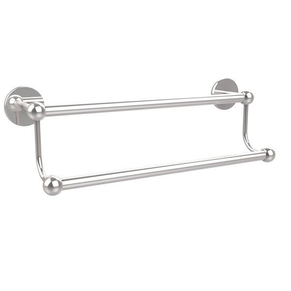 Polished Chrome 36-Inch Double Towel Bar, image 1